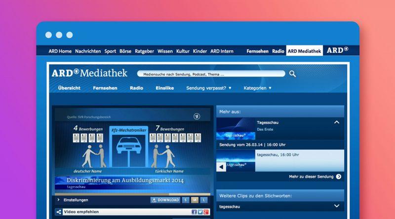 Infografik: Diskriminierung am Ausbildungsmarkt - ARD Mediathek