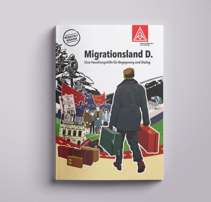 Migrationsland D. Heft Umschlag